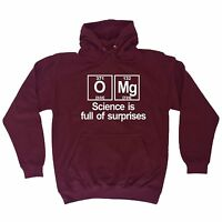 OMG Science Is Full Of Surprises HOODIE hoody birthday gift nerd geek college