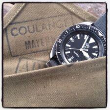 Pochette rangement pour montre vintage (Tudor CWC aquastar Rolex) travel case