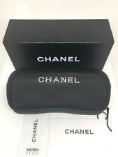 NEW Original Authentic CHANEL Sunglasses HARD CASE with Swarovski Crystals & Box