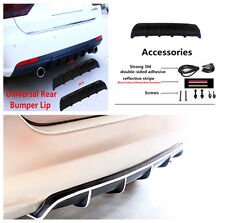 Rear Bumper Shark Fin Style Anti Scratche Body Protector Lip for 5-seat Car Suv