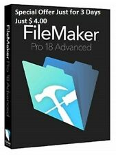 FileMaker Pro 18 Advanced Full Version Windows / Mac OS Lifetime License Key
