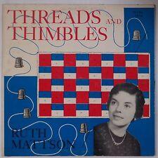 RUTH MATTSON: Threads and Thimbles PRIVATE Gospel Spiritual VINYL LP hear