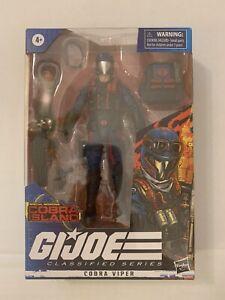 NEW Hasbro G.I. Joe Classified Series Cobra Island Cobra Viper Figure Target