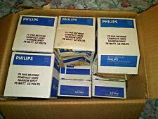 Lot Of 10 Philips 75 Par 36/Vnsp Compact -Very Narrow Spot 75 Watt 12 Volts
