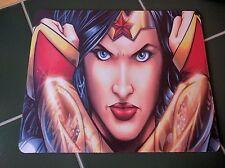 WONDER WOMAN JUSTICE ! DC Comics !! Anti slip COMPUTER MOUSE PAD 9 X 7inch
