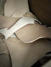 Lot Of Vegi Tan leather Pieces 6/7 ounce & 8/9 ounce leather crafts jewelry new