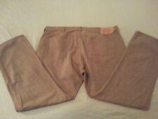 Mens Levis 501 Jeans 44x32 Big Tall Khaki Classic Straight Denim Pants