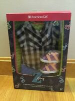 American Girl Z Yang Easy Breezy Outfit Top Pants Shoes Headband New In Box