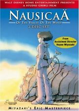 Nausicaa of the Valley of the Wind (DVD, 2005, 2-DVD Set NEW