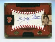 Felipe Alou Auto /150 2004 Upper Deck Sweet Spot Classic SSA-22 Blue Ink Giants