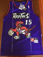 Vince Carter #15 Toronto Raptors Swingman Basketball Jersey Men's Purple NWT