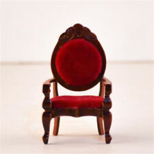 1:12 Dollhouse Miniature Vintage Single Sofa Chair Furniture For Room Kitchen ♫