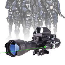 Pinty 4-16x50 Eg Illuminated Rangefinder Reticle Riflescope + Green Dot Hottest