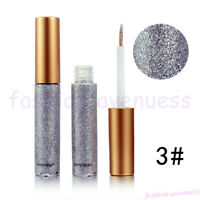 10 colour Glitter Liquid Eyeliner Metallic Shiny Smoky Eyes Waterproof Cosmetic