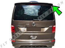 für VW t5 v multivan 5 heckscheibenblende tailgate heckschürze blende Silber neu