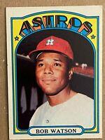 Topps 1972 #355 Bob Watson - Houston Astros
