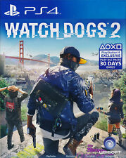 Watch Dogs 2 PS4 Game BRAND NEW SEALED