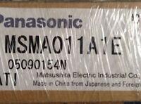 1PC NEW Panasonic ac servo motor MSMA011A1E #A5