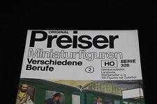 W666 PREISER Figurine Maquette Ho 326 personnage divers metier + 160 diorama