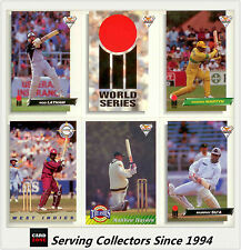 Cricket Card Set-1993/94 Futera Cricket Trading Cards Base Full Set (110)--Rare