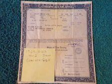 1968 Oldsmobile Cutlass 442 Convertible Historical Paperwork Document  RARE