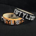Cosmetologist Stylist Bracelet or Personalize Your Own Name Rhinestone Bracelet