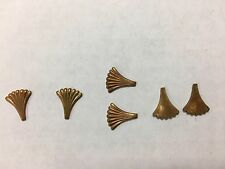 Metal shapes fan like small crafts Steampunk lot of 50