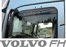 Truck Cab Wind Deflector Stickers Volvo FH inside or outside fit - colour choice