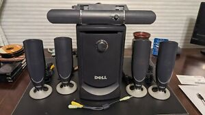 Dell MMS 5650 5.1-Channel 100W Surround Sound PC Speakers System