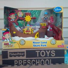 FISHER PRICE JAKE AND THE NEVER LAND PIRATES SKATE PARK PLAYSET
