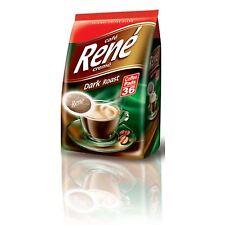 Philips Senseo 36 x Café Rene Cremé Dark Roast Coffee Pads Pods Bag