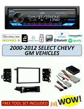 JVC KD-X370BTS Stereo Kit for Select GM Chevrolet Vehicles 2000-2012, ALEXA XM