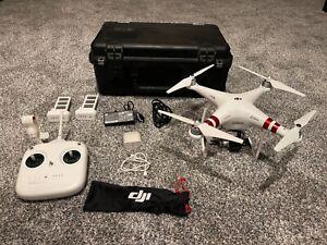 DJI Phantom 3 Standard Drone w/ rolling case- Great Shape!