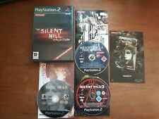THE SILENT HILL COLLECTION 2 3 4 PS2 PLAYSTATION 2 COMPLETO VER ITA OTTIMO STATO
