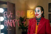 "Joker Movie Poster 2019 DC Comic's and Warner Bros 11""x17"" Joaquin Phoenix Photo"