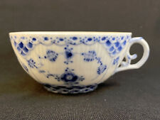 New ListingRoyal Copenhagen #1130 Blue Fluted Full Lace Tea Coffee Cup Only 1st Quality