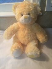 Build A Bear Yellow Topaz Sparkle Gem Friend Plush Soft Toy Stuffed