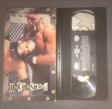 WCW Uncensored '98 (VHS, 1998) WWE WWF NWO HULK HOGAN MACHO MAN RARE