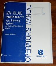 New Holland IntelliSteer Auto Steering System Version 16 Operators Manual