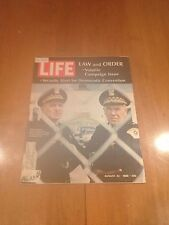 LIFE Magazine Law and Order August 23 1968 Security for Democratic Convention