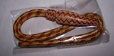 Army War Officer Parade Uniform Bullion Red Gold Sword Knot Tassel Portepee USA