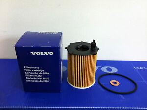 GENUINE VOLVO OIL FILTER & WASHER  30735878 1.6D DIESEL NEW S40 V50 C30 V70 S80