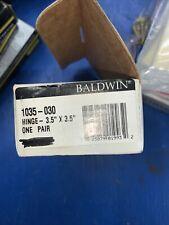 Baldwin Solid Brass Hinges