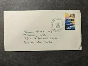 APO 09716 COPENHAGEN, DENMARK 1992 Air Force Cover AMERICAN EMBASSY