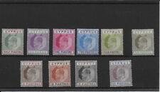 CYPRUS  1902/4  SG50/9 mint