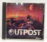 OUTPOST (PC CD ROM 1994-1995 SciFi) Video Game: Sierra games Windows RARE!
