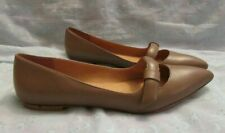 Women's MARC by Marc Jacobs Leather Flat Shoes Size 40 1/2