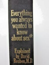 1969 Everything You Ever Wanted to Know About Sex but Were Afraid to Ask 1st Ed