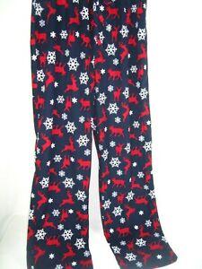 CLUB ROOM Men's PAJAMAS LOUNGE PANTS Blue/White/Red  SOFT SLEEPWEAR Sz M NWOT