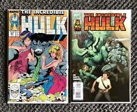 Incredible Hulk #347 - #604 - First Appearances Of Marlo Chandler and Harpy!